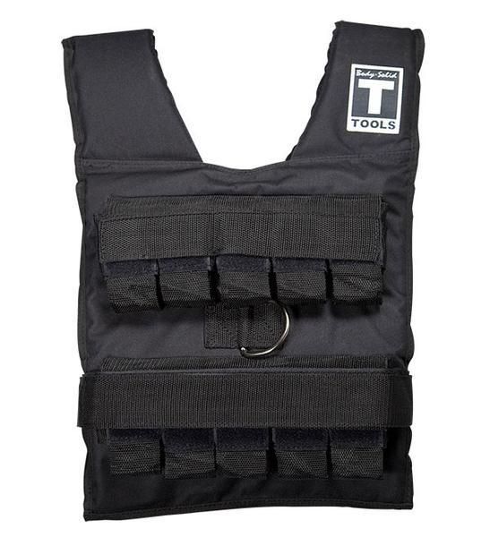 body solid tools weighted vest