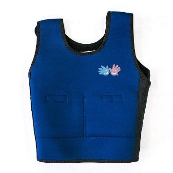 Fun and Function's Blue children Weighted Compression Vest