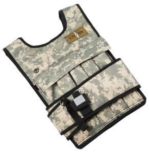 CROSS101 Adjustable Camouflage Weighted Vest