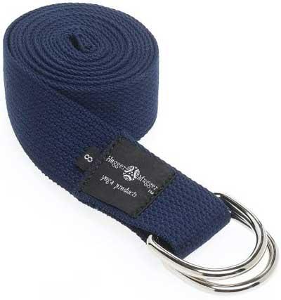 Hugger Mugger D-Ring Yoga Strap
