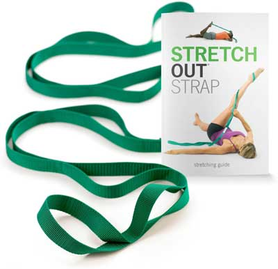 OPTP Original Stretch Out Strap with Exercise Book