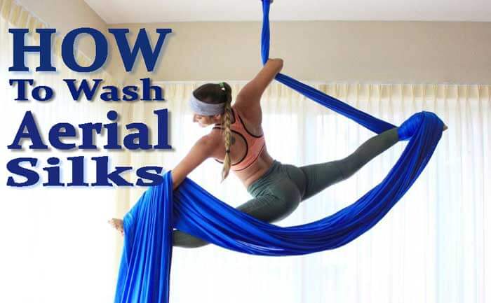 How to Wash Aerial Silks